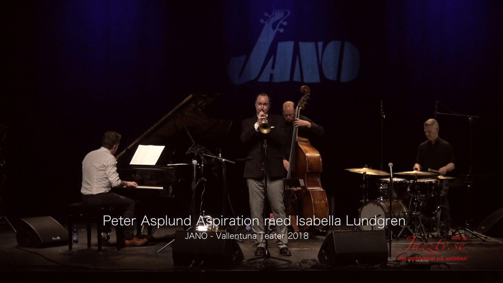 Peter Asplund Aspiration med Isabella Lundgren